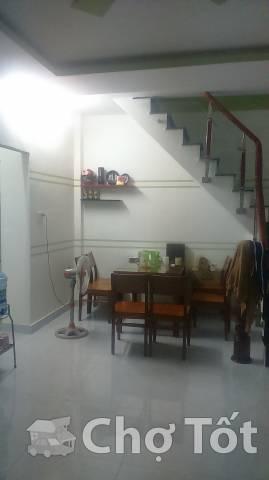 Nhà 40m2 đường quang trung.p10.gv.2pn có nội thất