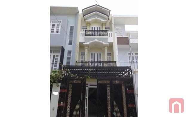 Nhà mới xây, đường rộng 8m, Hiệp Thành, (4 x 22), đúc 3 tầng, 3 tầng, sân thượng, sân rộng